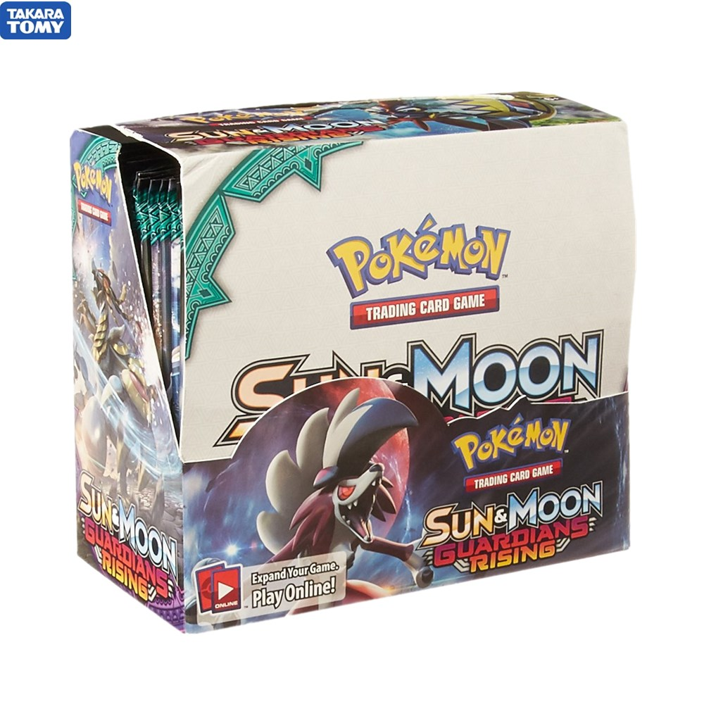 324 Cards Pokemon TCG: Sun & Moon Guardians Rising Booster Sealed Box | Collectible Trading Card Set