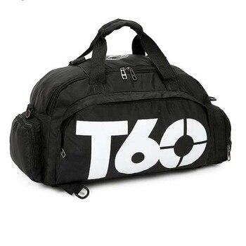 New Sport Gym Bag Men Women Outdoor Waterproof Backpack Separate Space For Shoes Handle Bag 2