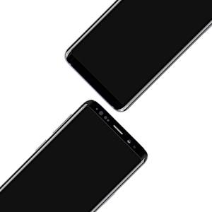 Image 4 - AMOLED SAMSUNG Galaxy S9 Artı LCD dokunmatik ekranlı sayısallaştırıcı grup Çerçeve ile S9 + S9 LCD G960 G965 Yedek