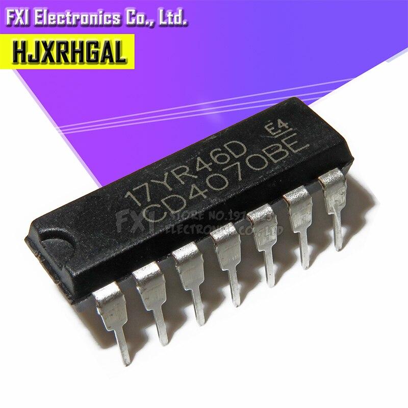 10PCS CD4070BE CD4070 DIP14 DIP New Original