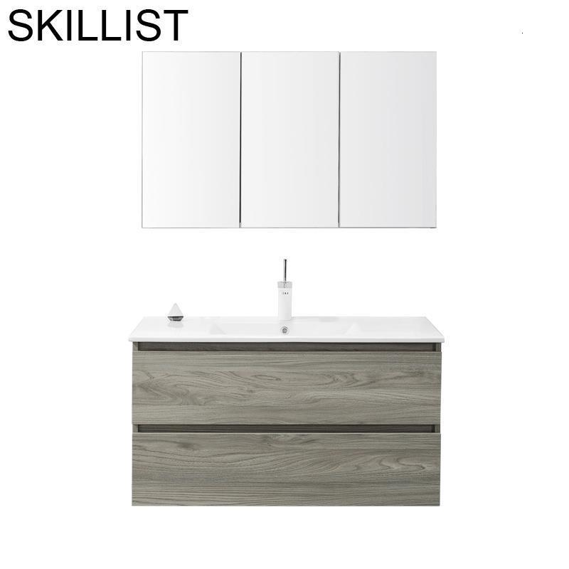 Meubel Armoire Armario Badkamer Kast Toilette Table Shelf Mobile Bagno Banheiro Meuble Salle De Bain Vanity Bathroom Cabinet
