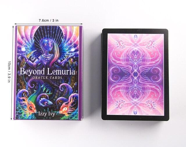 The latest oracle cards Beyond Lemuria Oracle Cards Tarot Cards New Tarot Decks 2