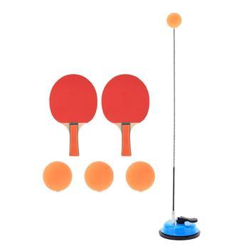 Na przyssawki stół domowy tenisówka zestaw elastyczny wałek praktyka regulowany rakieta biurowa odbicie zapobieganie krótkowzroczności dzieci tanie i dobre opinie WOMEN