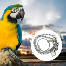 1 Pc New Pet Parrot Leg Ring Ankle Foot Chain Bird Ring Outdoor Flying Training Activity Opening Stand Accessories Bird Supplies(China)