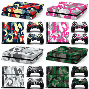 FOR PS4 Skin Sticker Decal For PS4 Console and 2 Controllers PS4 Skin Sticker Vinyl skins