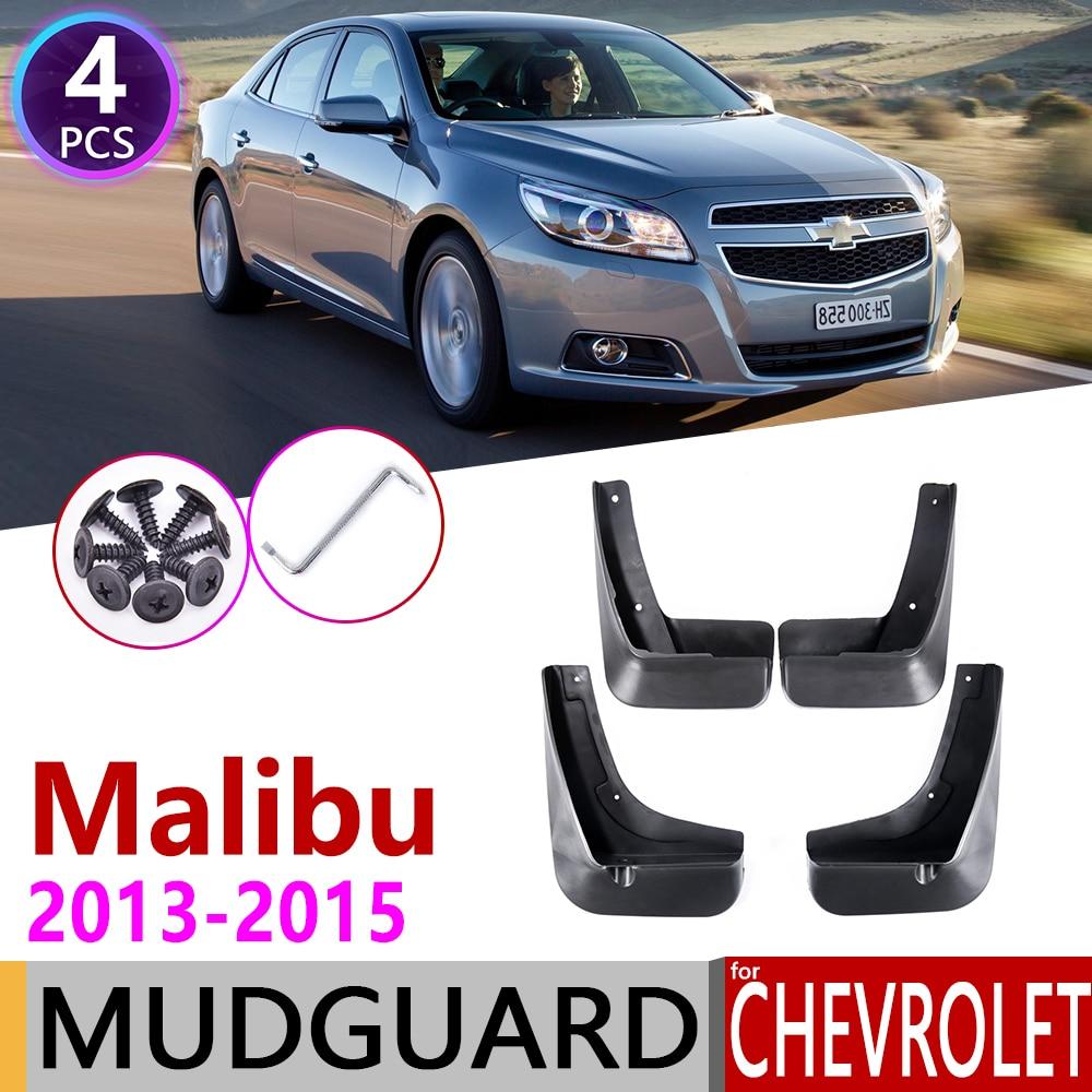 Mud Flap Splash Guard 4pcs Kit For Chevrolet Malibu 2013-2015
