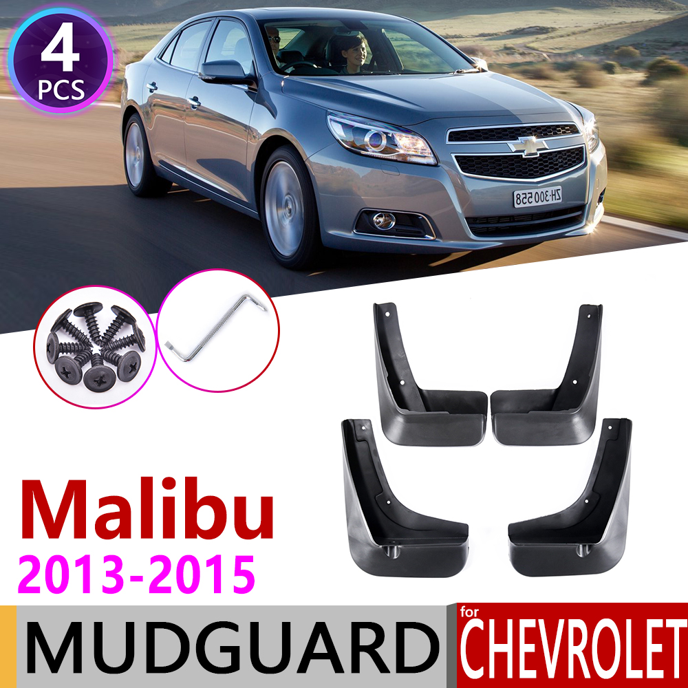Front Rear Car Mudflaps For Chevrolet Malibu 2013 2014 2015 Fender Mud Guard Flaps Splash Flap Mudguards Accessories 8th 8 Gen