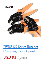 IWISS Clamp tool IWS-1424BN Crimping Pliers for DELPHI Automobile