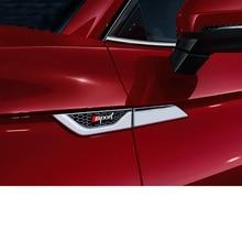Lsrtw2017 Zinc Alloy Car Door Edge Side Mark Trims for Audi A4 A6 Q3 Q5 Q5 A3 Q7 Accessories lsrtw2017 leather car key case chain buckle chain for a4 a6 a3 q3 q5 q5 q7