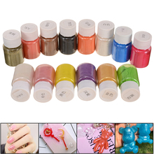 14 Colors/set Mica Powder Soap Dye Makeup Pigment Bath Bomb Pearl Slime Coloring