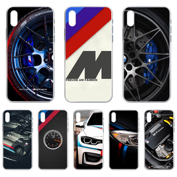 Racing Sports car BMW M Phone Case cover For iphone 4 4S 5 5C 5S 6 6S PLUS 7 8 X XR XS 11 PRO SE 2020 MAX transparent prime image