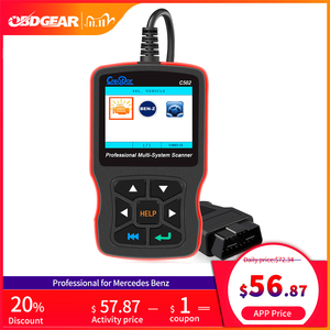 Image 1 - Newest Creator C502 Car OBD 2 Diagnostic Tool Full Systems Auto Diagnostic Scanner Professional For Mercedes Benz OBD2 Scanner