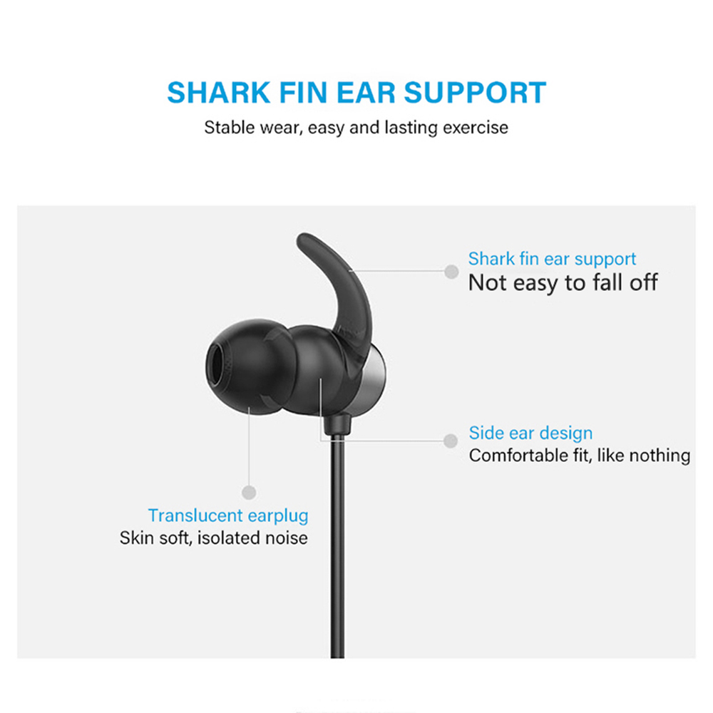 UiiSii B1 IPX5 Waterproof Bluetooth Earphones 4