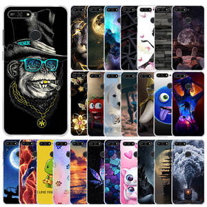 """Soft TPU Silicone Case For Huawei Honor 7A Pro Case 5.7"""" Phone Case On Huawei Y6 Y 6 Prime 2018 Back Cover Coque Bumper(China)"""
