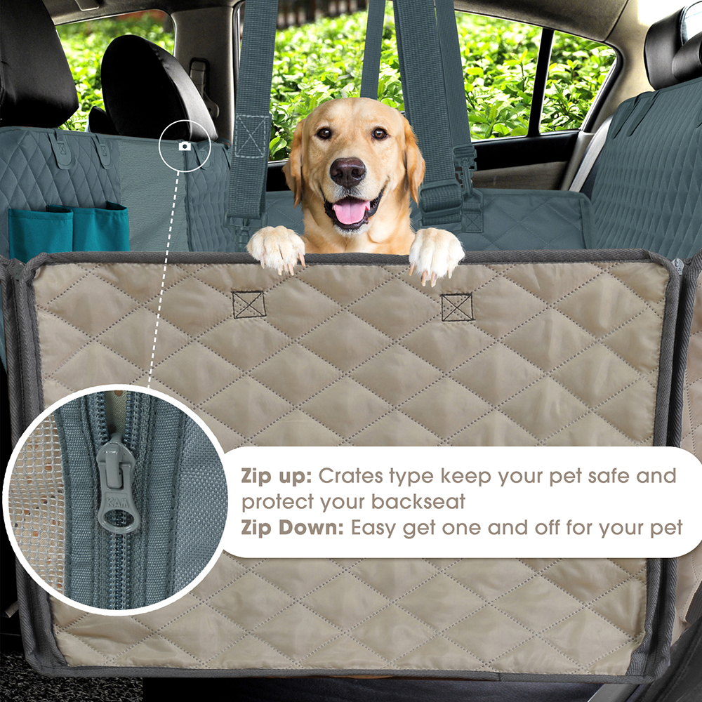 Dog Car Seat Cover with View Mesh | Seat Cover for Dogs | Seat Cover for Cats | Seat Cover for Pets | Car Seat Cover for Dogs |