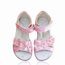 Shoes Arch-Support-Sandals Orthopedic Flower-Girl Kids Fashion Children Inner 1pair