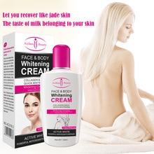 Collagen Milk Bleaching Face Body Cream skin whitening Moisturizing Body Lotion skin lightening cream 120ml