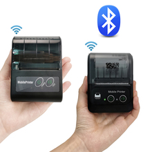 Mini Printer Pos-Machine Thermal-Receipt-Printer Portable Mobile-Phone Bluetooth Small