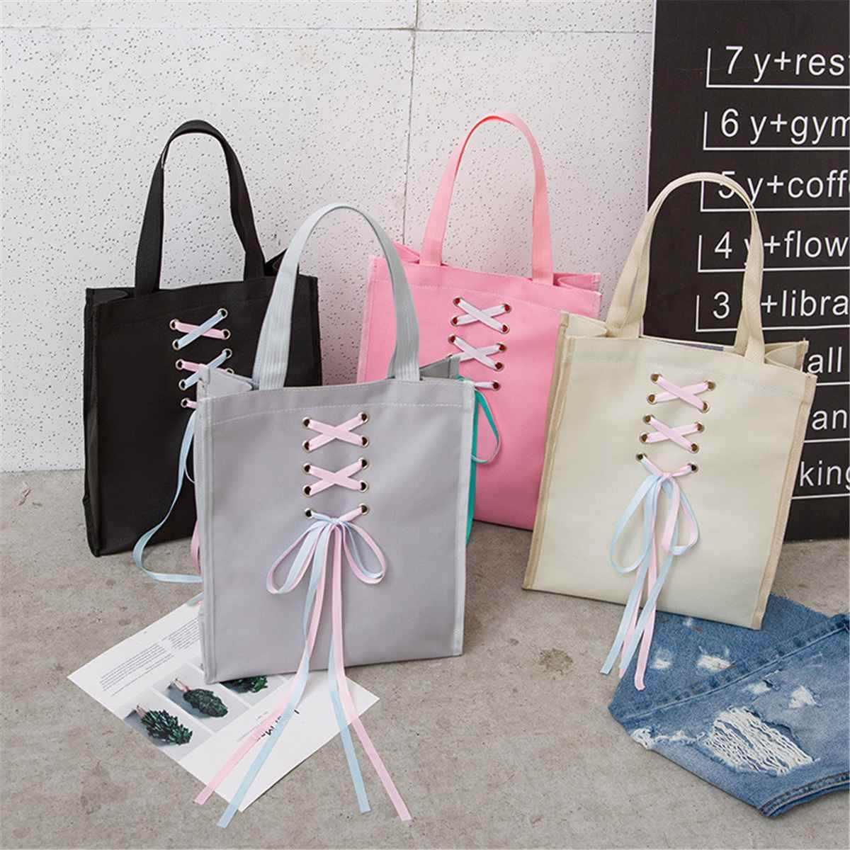 4 шт./компл. ленточная цепь рюкзак с бантом холщовый рюкзак сумки на плечо дорожные рюкзаки для девочек-подростков школьный рюкзак для девочек подарок