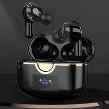 JIMARTI T22 kablosuz kulaklık ile 4 mikrofon TWS Bluetooth 5.1 kulaklık gerçek Stereo bas Stereo Hifi USB C şarj için telefon