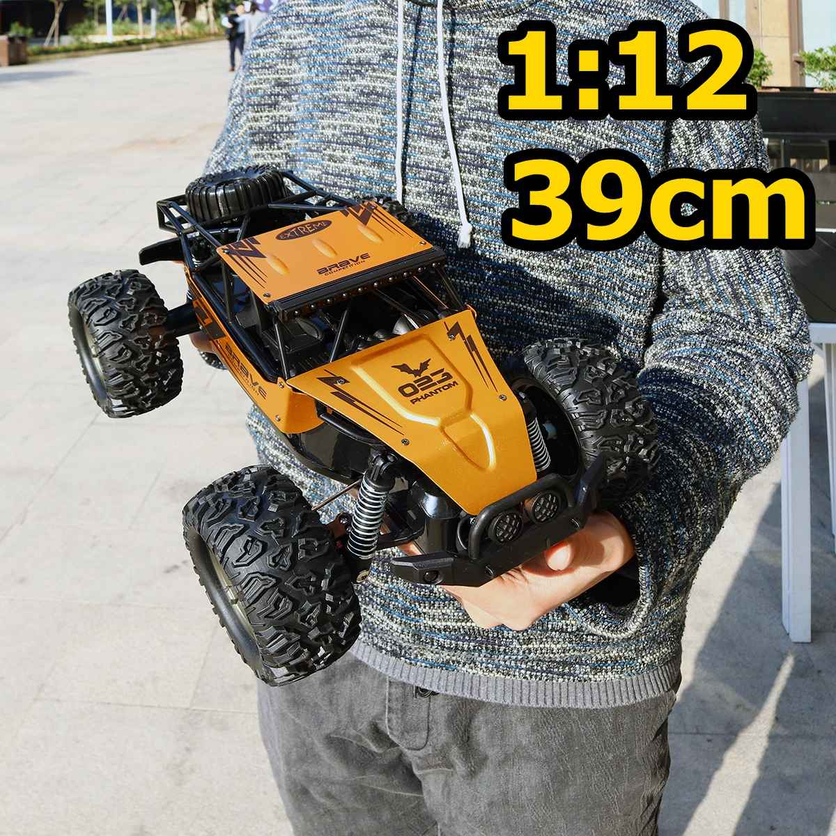 60Km/h 1:12 RC Remote Control Off Road Car Vehicle 2.4Ghz Crawlers Electric Monster RC Car Toys Gift For Children Kids