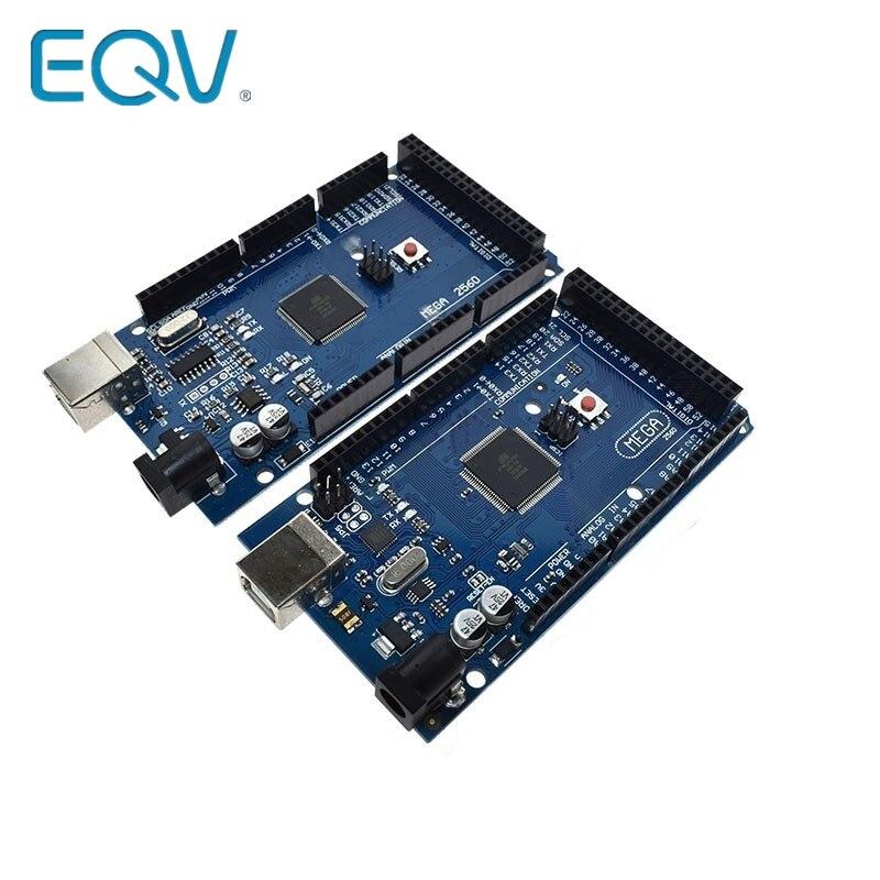 Placa de desenvolvimento usb r3 2560, mega2560 r3 ATmega2560-16AU ch340g avr para arduino