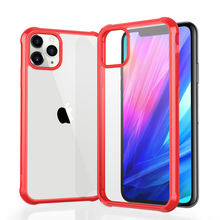 luxury Transparent Airbag Drop Prevention Case For iPhone 11 Pro MAX 7 8 Plus XR XS MAX Coque Ultra-thin Soft border Cover Case