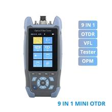Réflectomètre optique OTDR Mini Pro 9 en 1, OPM OLS VFL, carte dévénements, suivi de câble Ethernet RJ45