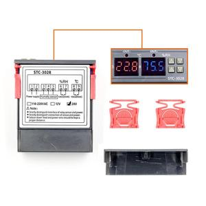 Image 4 - 12V 24V 220V 10A STC 3028 numérique température humidité mètre Thermostat double affichage thermomètre hygromètre réglable 0 ~ 100% RH
