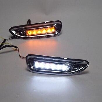 LED DRL Daytime Running Light Fog Lamp 12V Car Running Lights for Mazda6 2008 2009 2010