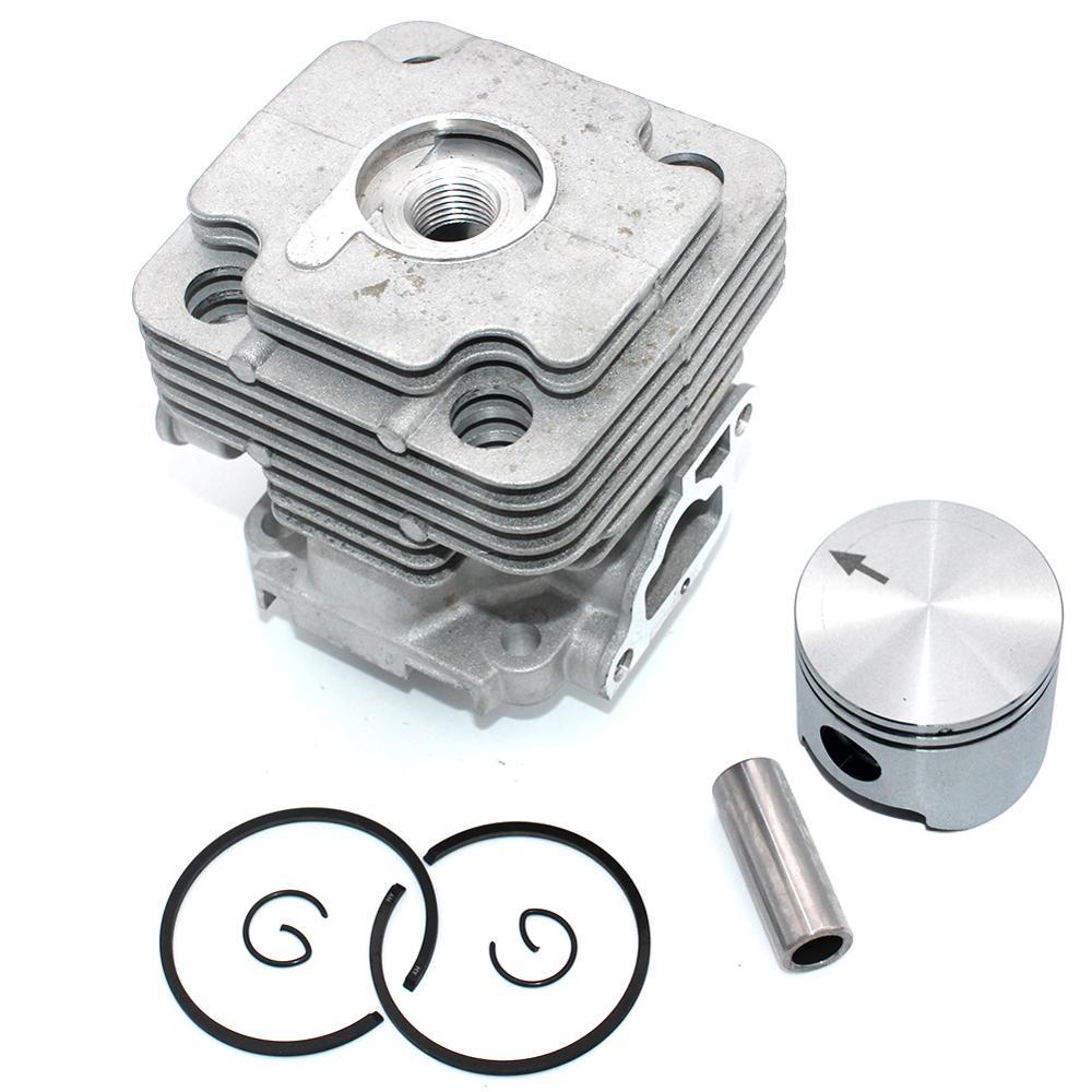 Cylinder Piston Kit 42mm for Oleo-Mac 446 BP 446 BP Ergo 746 S 746 T Efco 8460 460 IC 8465 8465 Ergo PN 61122014F 61122014B