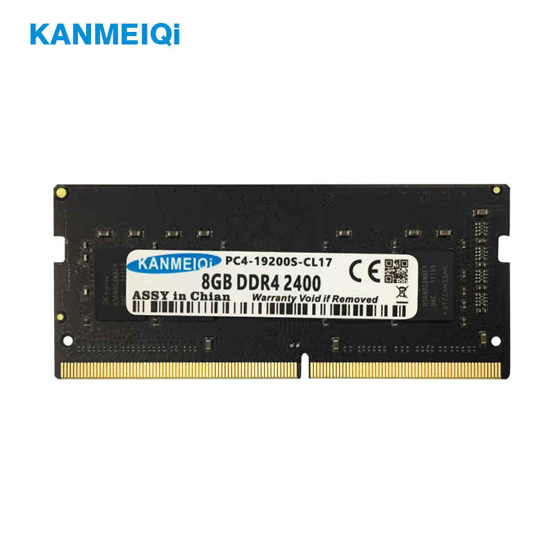 KANMEIQi <font><b>DDR4</b></font> 4GB <font><b>8GB</b></font> <font><b>ram</b></font> 2133Mhz Laptop Memory 8G <font><b>2400MHZ</b></font> Notebook Module SO-DIMM New 1.2v image