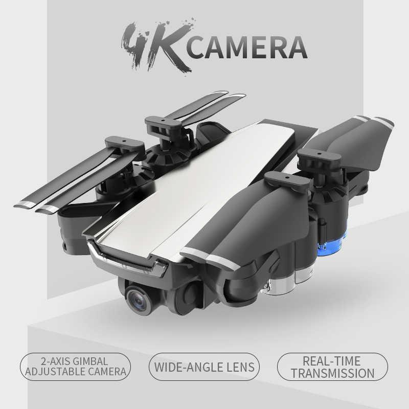 مهنة غس مع 4 K/1080 P هد زاوية واسعة كاميرا تتبعني واي فاي FPV كوادكوبتر طوي الارتفاع عقد دائم أرسي الطائرة بدون طيار