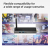 Intel Celeron J4105 Quad Core 8GB 128GB J4125  J3455 4K Fanless Mini PC Windows 10 Pro MeLE PC Stick Mini Computer HDMI WiFi LAN 6