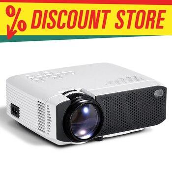 AUN mini projetor D50s  1280x720P/800x480P  suporte android wifi projetor 4k (x96q)   home theater full hd 1080p 3d   mini projetor portátil