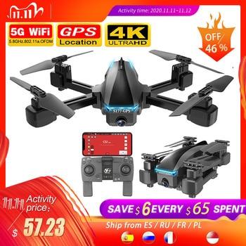 SHAREFUNBAY S177 drone 4k gps 5g WIFI hd wide angle dual camera fvp drone flight 20min rc distance 600m quadcopter vs s167 drone