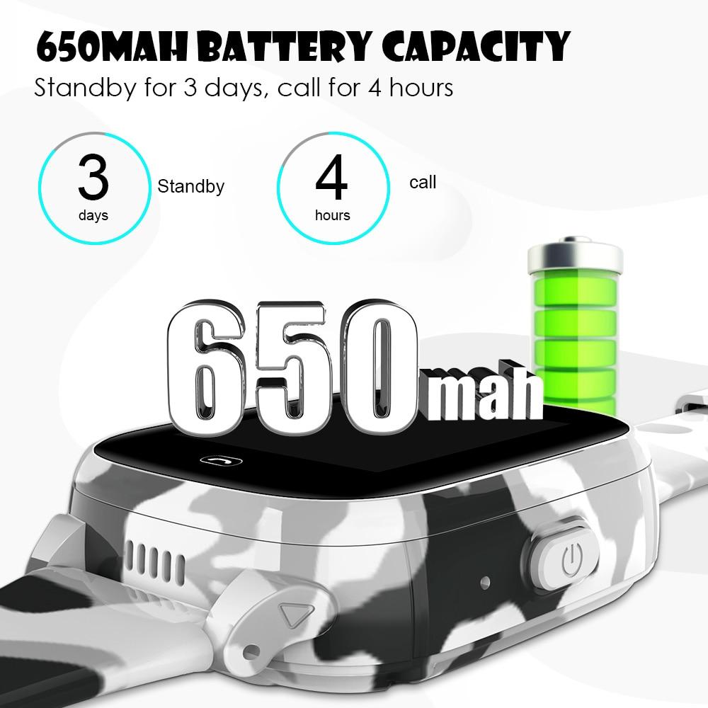 Femperna LEC2PRO 4G Kids Smart Watch Video Call SIM Card WIFI GPS Full Touch Screen Camera 650mah Battery Kids Watches (4G Global version)