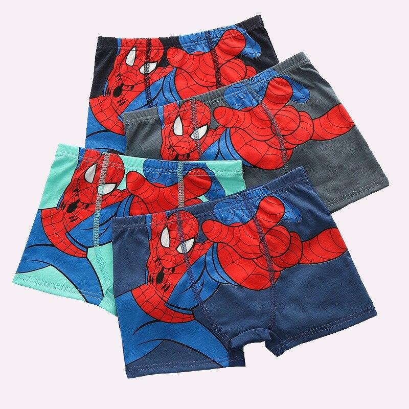 1 Pcs Briefs Underpants For Girls Boys Kids Baby Underwear Underwears Panties Infant Boxer Spiderman Teenagers For Panty Panties