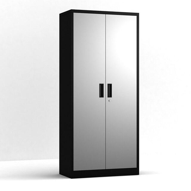 Steel Storage Cabinet , 5 Shelf Metal Storage Cabinet with 4 Adjustable Shelves and Lockable Doors 1