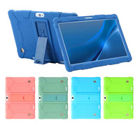 Silicone Stand Case for Hoozo 10.1 YELLYOUTH 10 BeyondTab 10.1 Dragon Touch K10 Wecool 10.1 Yuntab K107/K17 BENEVE 10.1 KUBI 10|Tablets & e-Books Case|   -