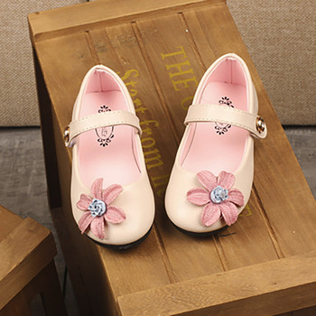 Summer Children Kid Girls Solid Floral Princess Casual Shoes for toddlers Kids party pageant princess shoes фото