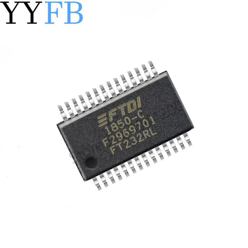Patch <font><b>FT232RL</b></font> <font><b>chip</b></font> bridge USB to UART SSOP-28. image