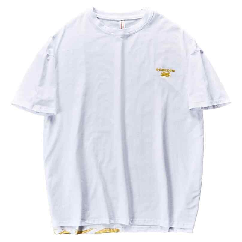 2019 เสื้อฤดูร้อนใหม่เสื้อยืดผู้ชายพิมพ์ใหม่ T เสื้อแขนสั้นแบรนด์เสื้อผ้าผู้ชาย hip hop Tops Casual Cotton เสื้อ