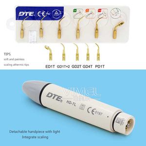 Image 2 - Un ensemble N3/ V3 boîte de contrôle de LED + pièce à main + pointe pour détartreur de Type intégré pic/DTE dentiste chaise nettoyage des dents