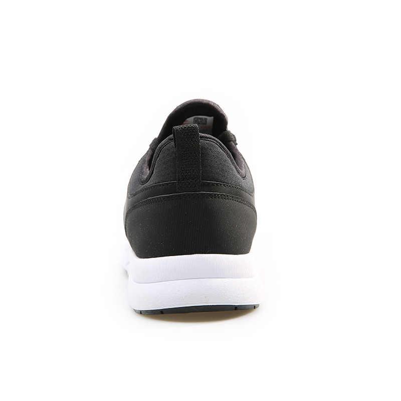 Tepe yürüyüş ayakkabısı erkekler için nefes hafif siyah rahat ayakkabılar rahat kaymaz Sneakers açık tekstil ayakkabı