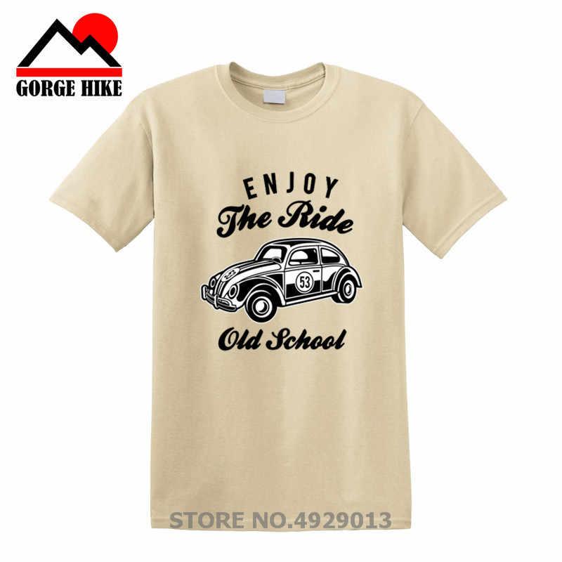 2019 バグ古典的な乗車ヴィンテージカー 53 大人 & キッズオールドスクール Tシャツ夏の Tシャツブランドボディビルオム高品質