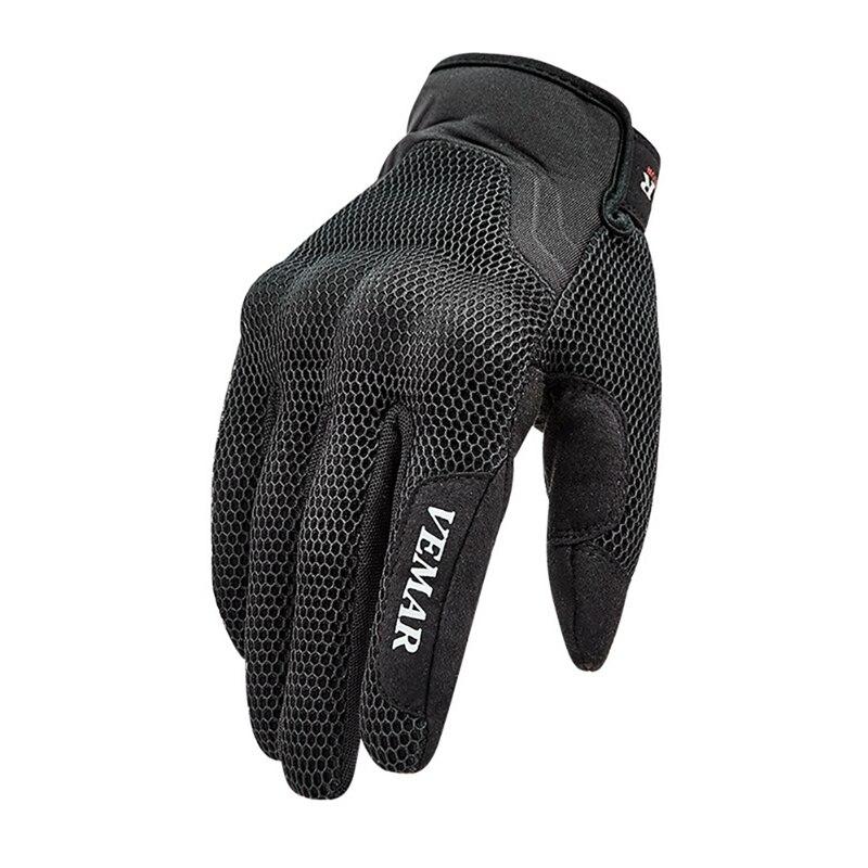 New 2020 Summer Motorcycle Gloves Men Guantes Moto Motorbike Motocross Riding Gloves Motorcycle Breathable Full Finger Gloves