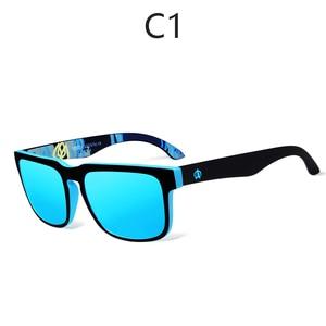 Image 4 - Viahda marka yeni polarize güneş gözlüğü erkekler serin seyahat güneş gözlüğü yüksek kaliteli gözlük Gafas kutusu ile