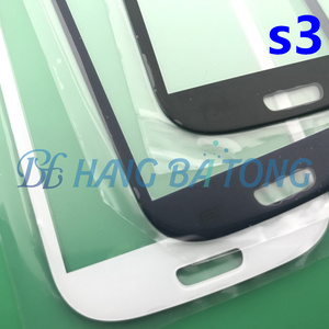 Preto/branco/azul/vermelho i9300 frente exterior substituição da lente de vidro para samsung galaxy s3 GT-I9305 lcd touch screen + adesivo + ferramentas