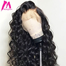 Loose wave lace front human hair wigs for black women brazilian Wavy Short Long wig preplucked with baby hair 13×4
